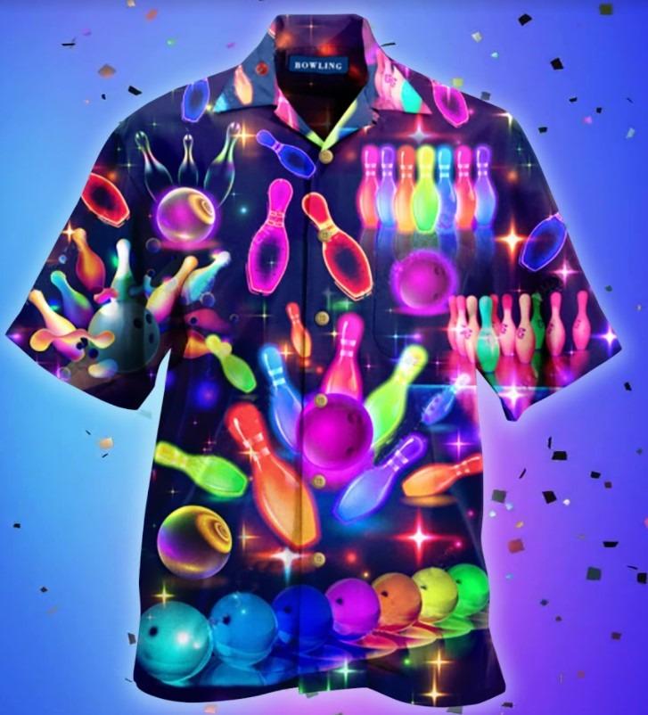 Bowling this how roll hawaiian shirt 4