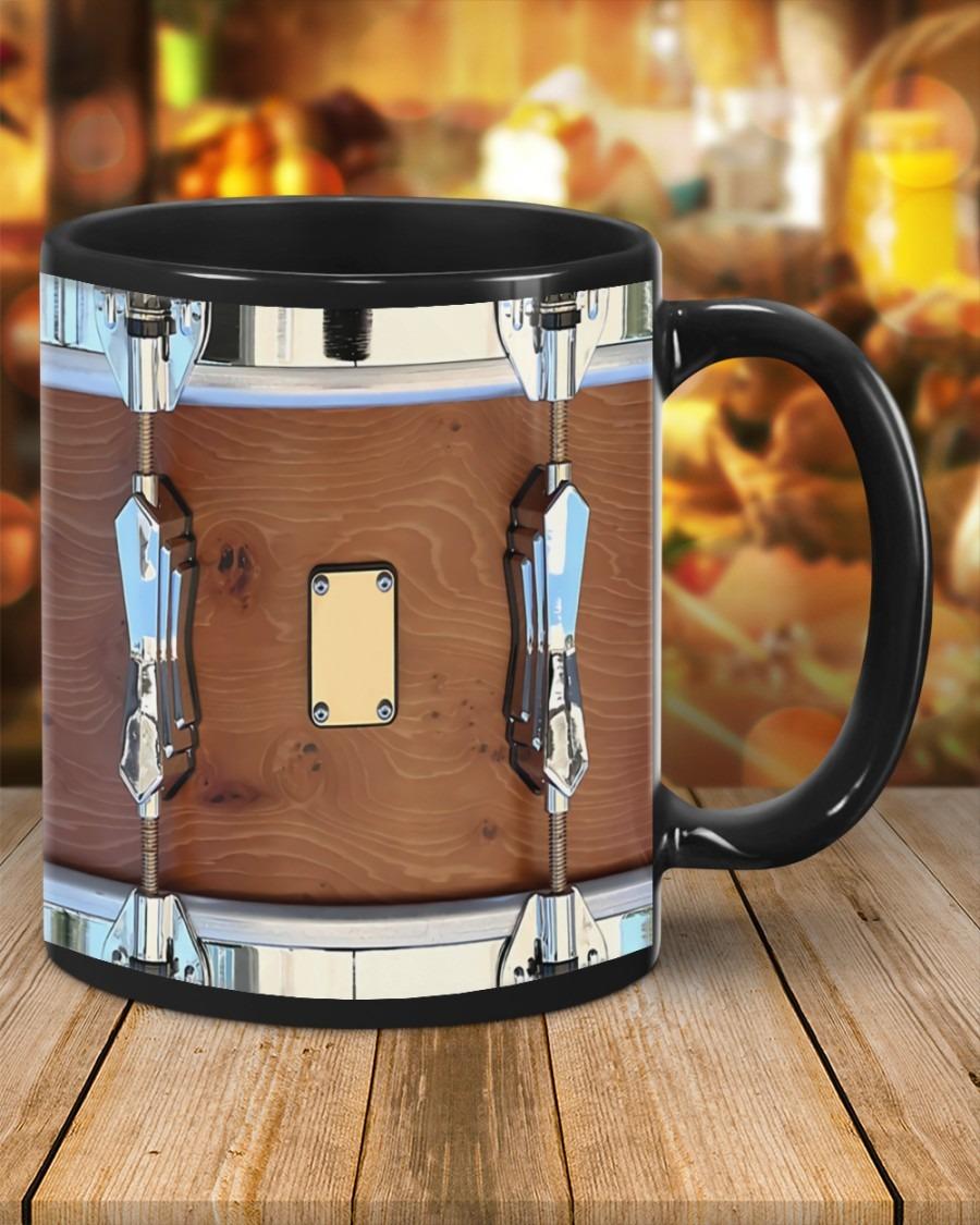 Brown drum mug 2