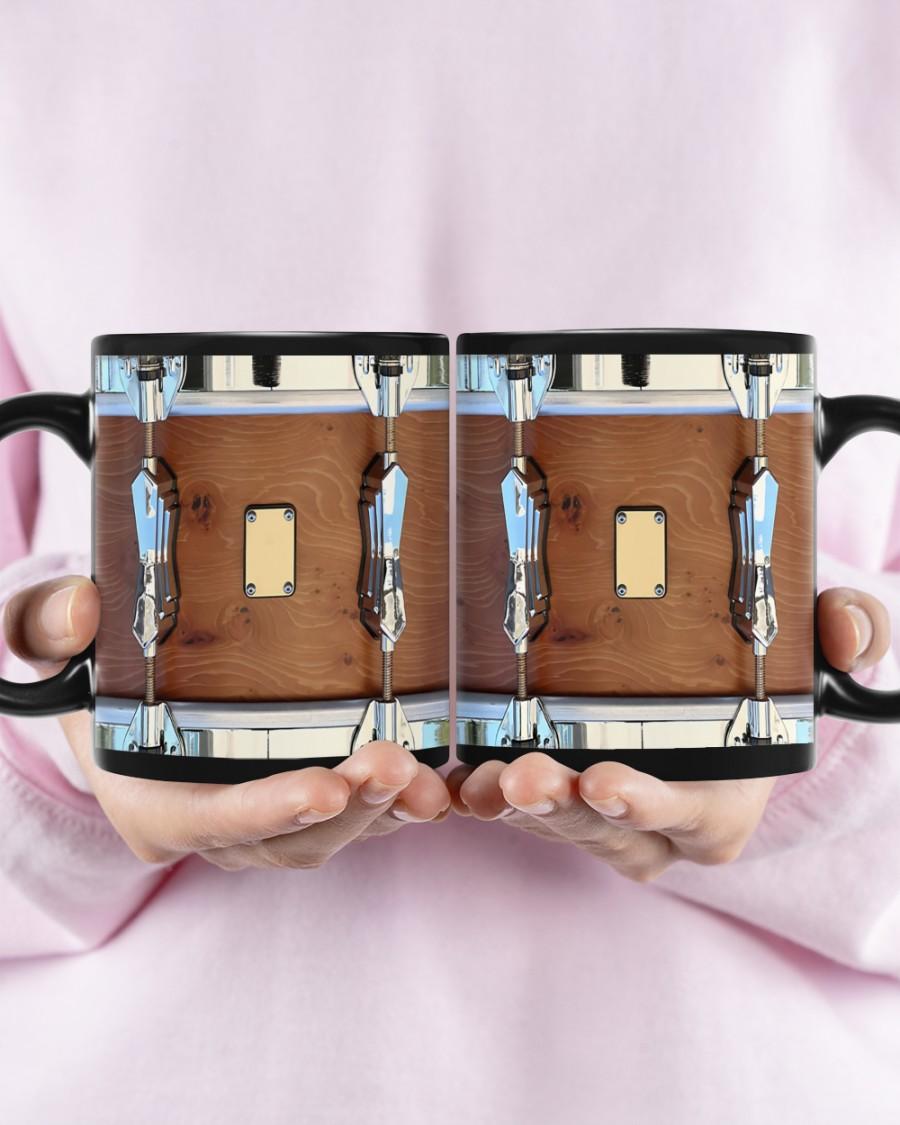 Brown drum mug 3