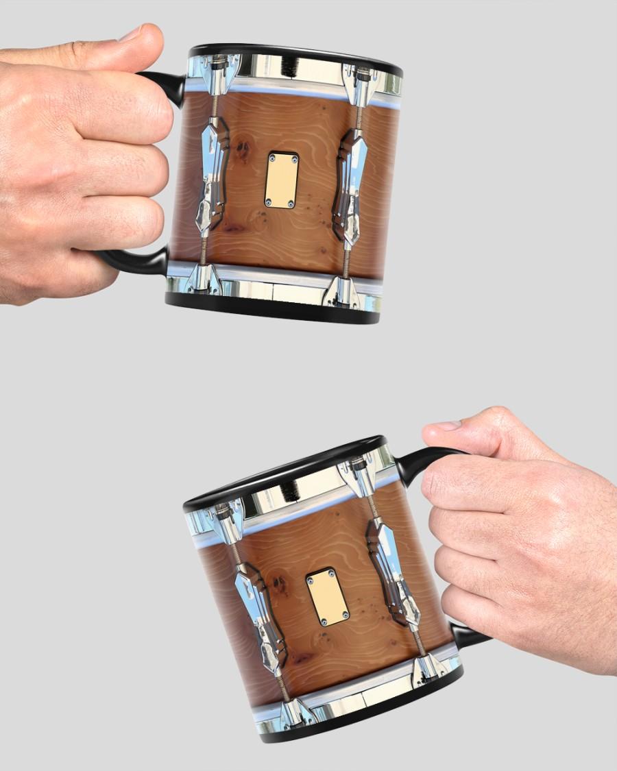 Brown drum mug 4
