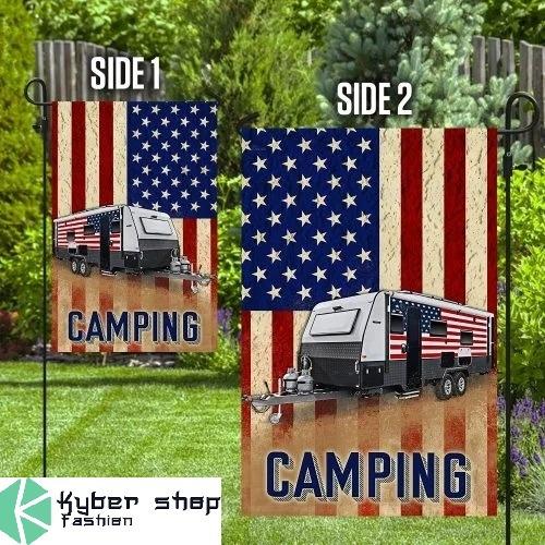 Camper van flag