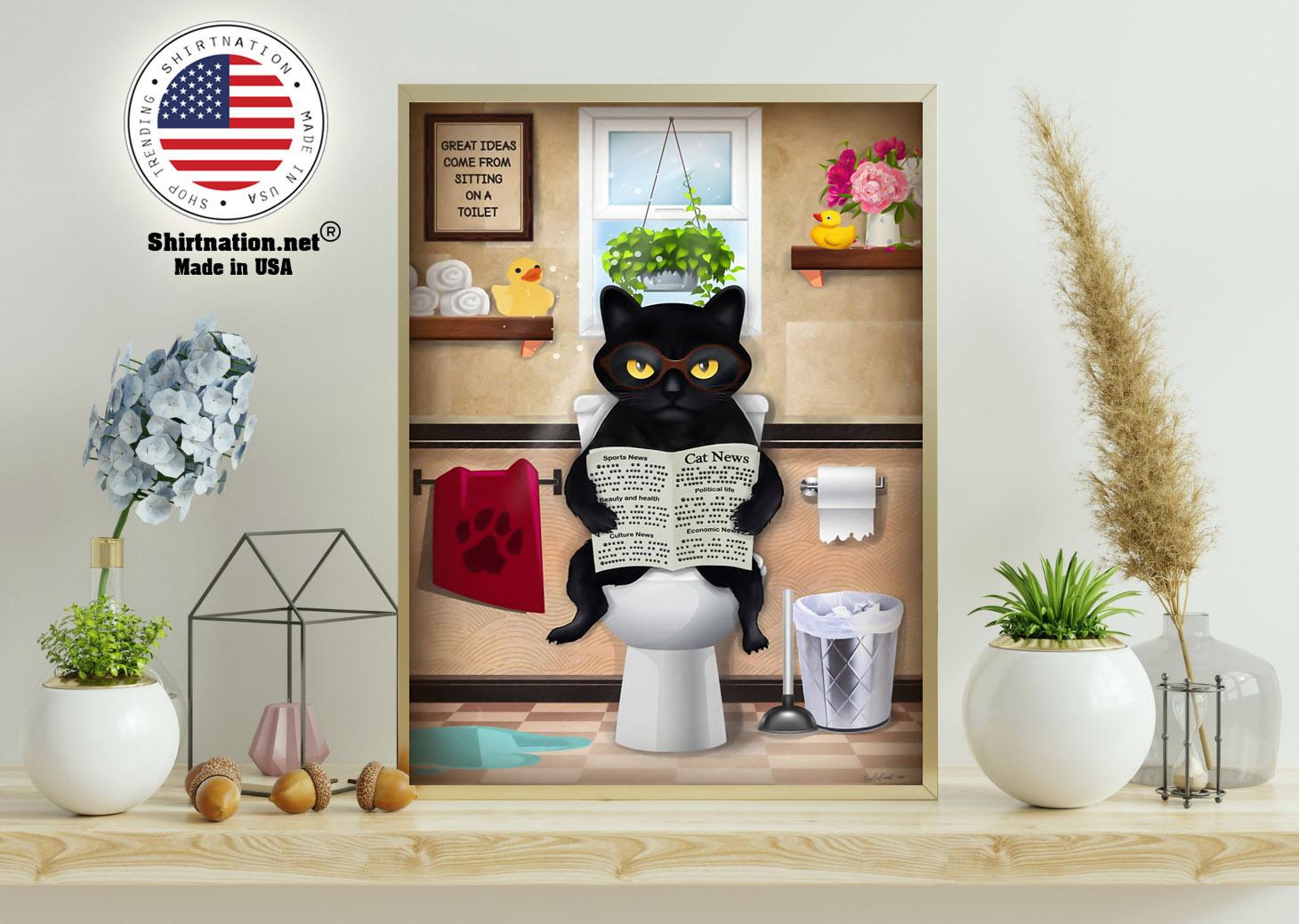 Cat toilet poster 11