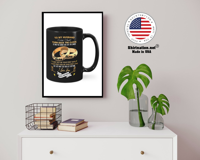 Couplerings To my husband turn back the clock I love you custom name mug 14