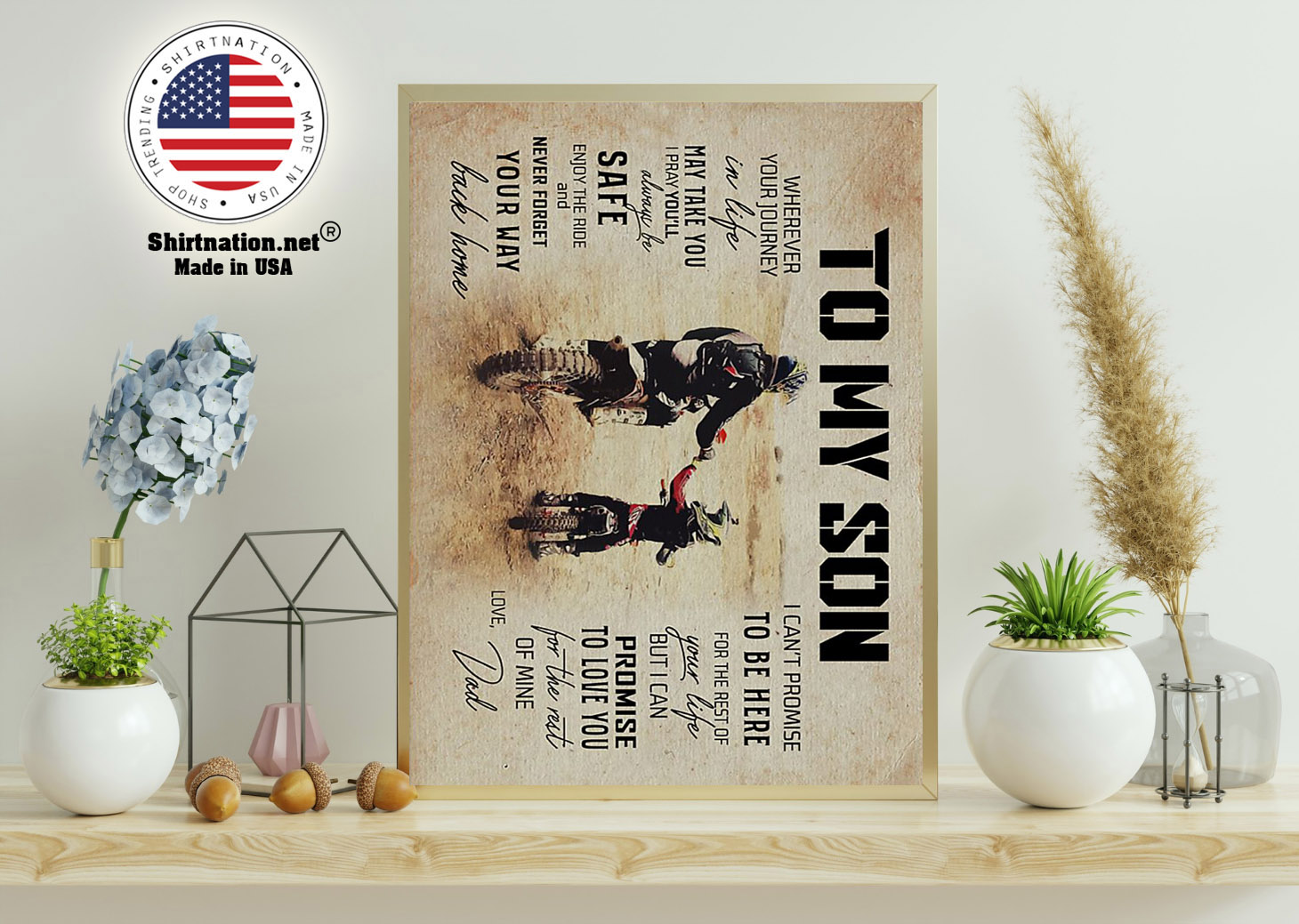 Dad to son wherever your journey in life may take you poster 11