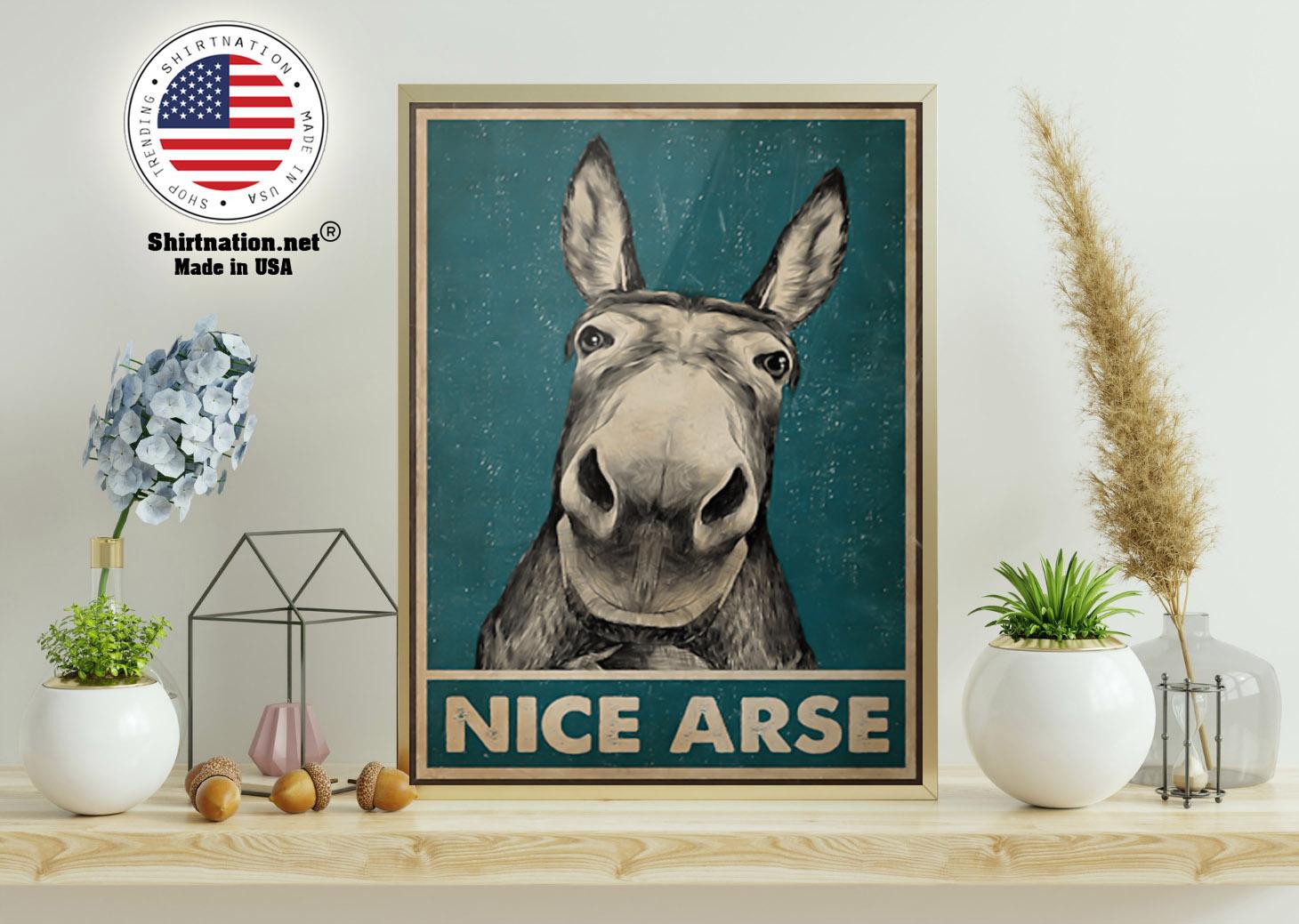 Donkey Nice Arse Poster 11