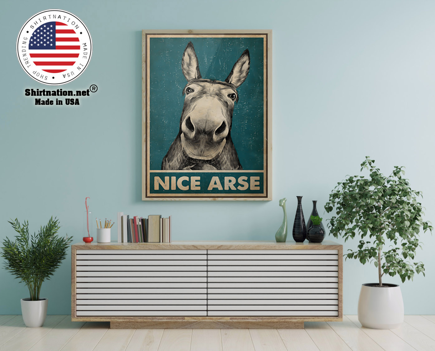 Donkey Nice Arse Poster 12