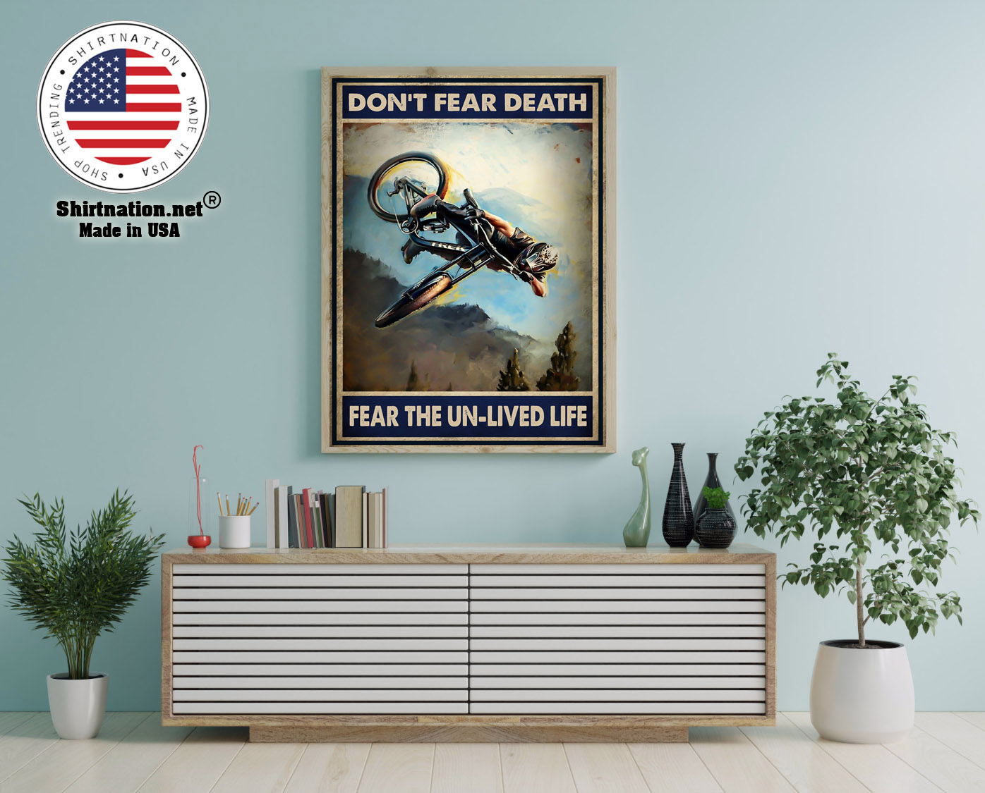 Dont fear death fear the un lived life poster 12