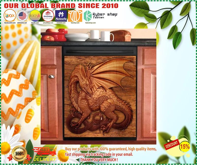 Dragon decor kitchen dishwasher 2 1