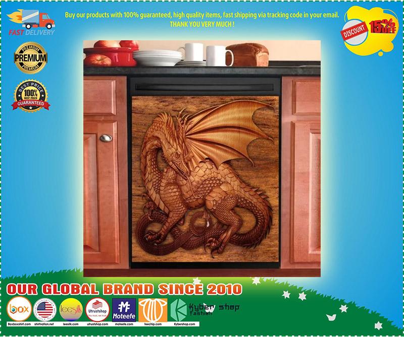 Dragon decor kitchen dishwasher 3 1