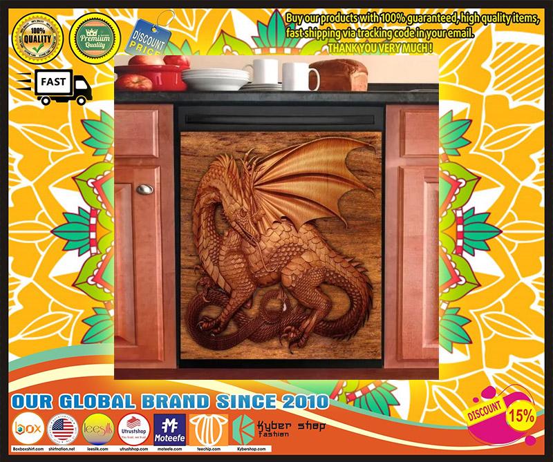 Dragon decor kitchen dishwasher 4 1