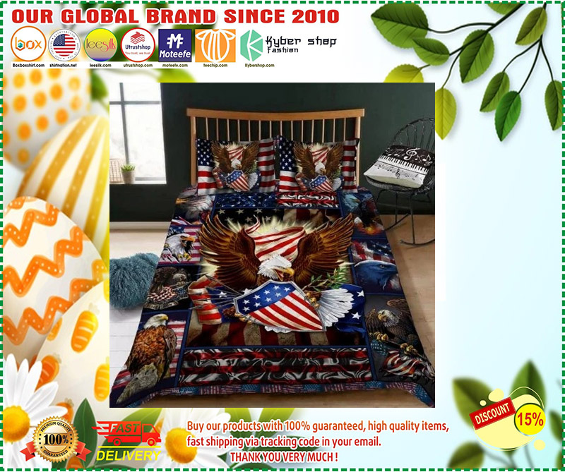 Eagle American bedding set 2