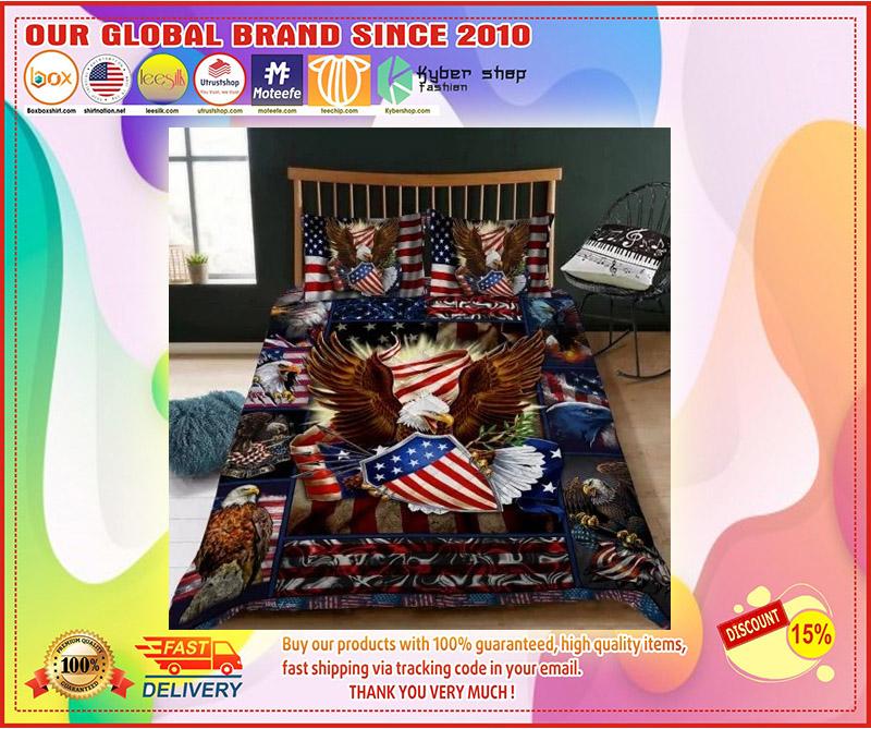 Eagle American bedding set 3
