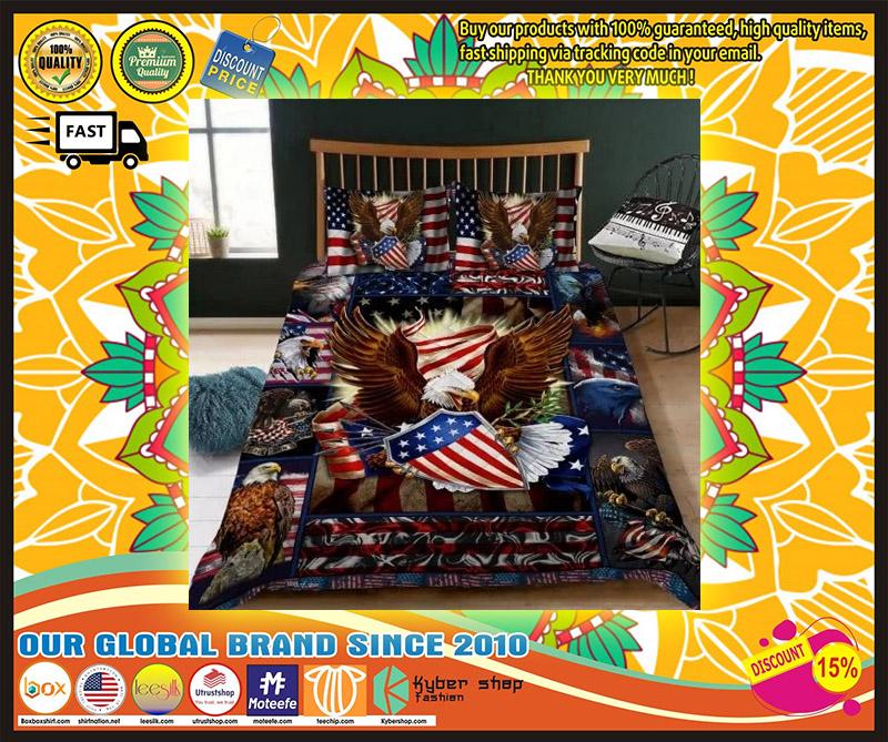 Eagle American bedding set 4