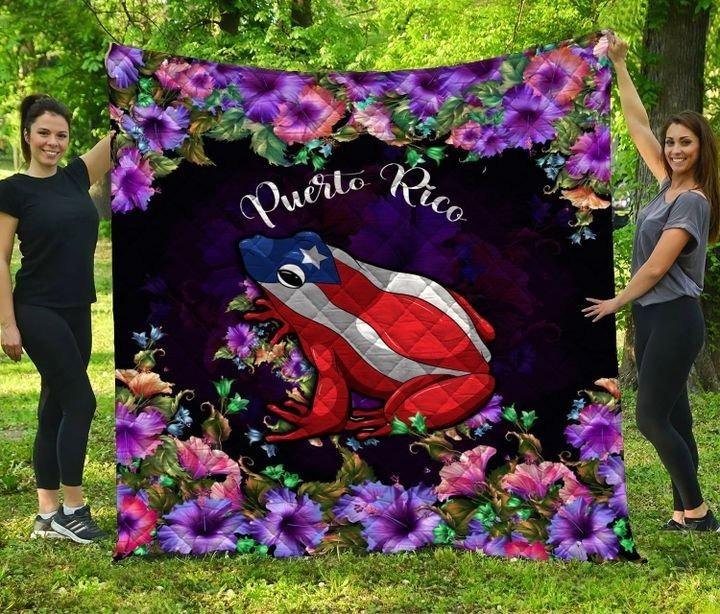 Frog Puerto rico bedding set 1