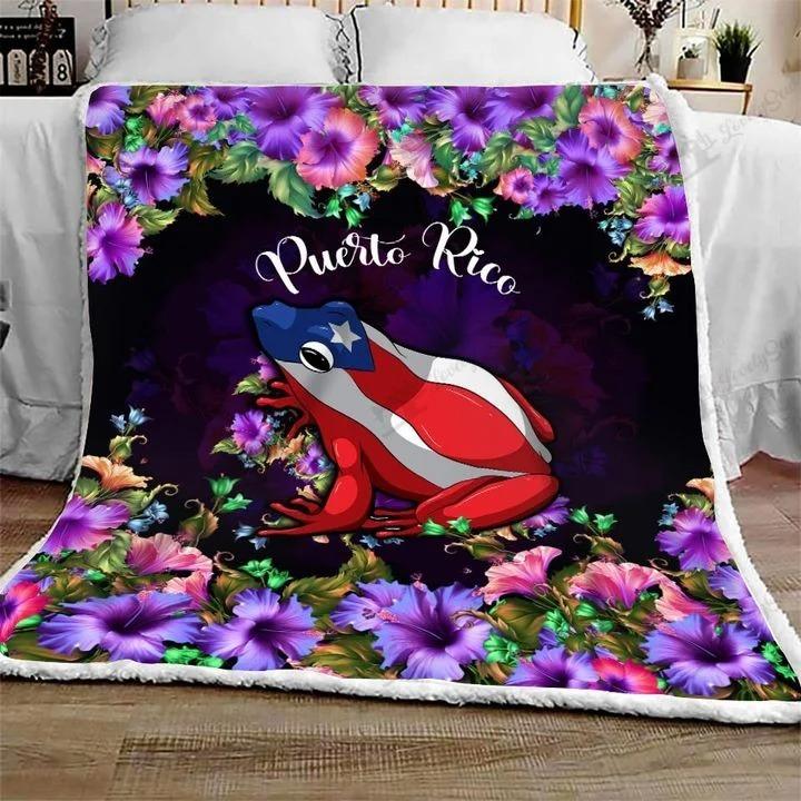 Frog Puerto rico bedding set 4