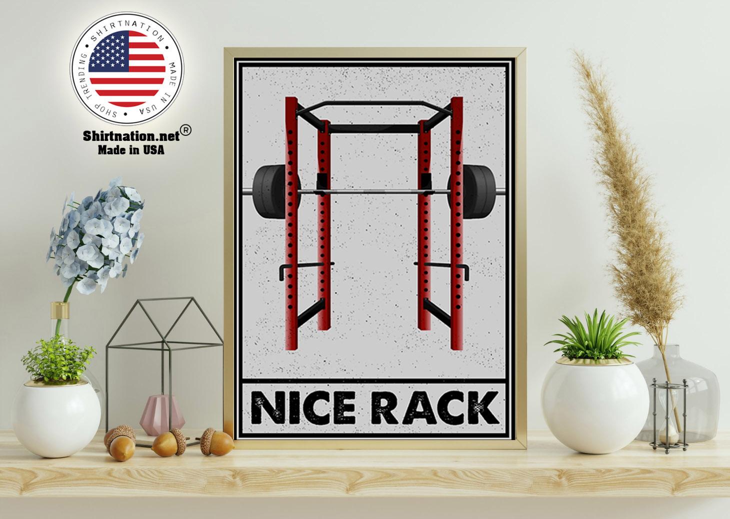 Gym Nice Rack poster