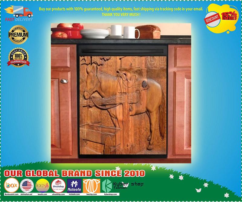 Horse decor kitchen dishwasher 2 1