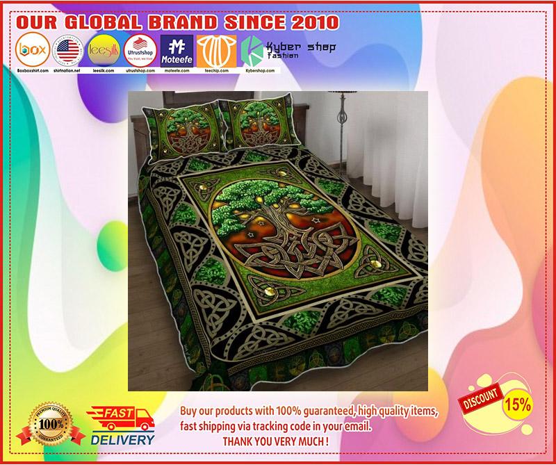 Irish tree bedding set 2