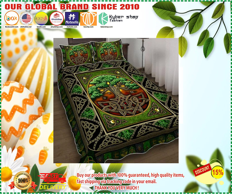 Irish tree bedding set 3