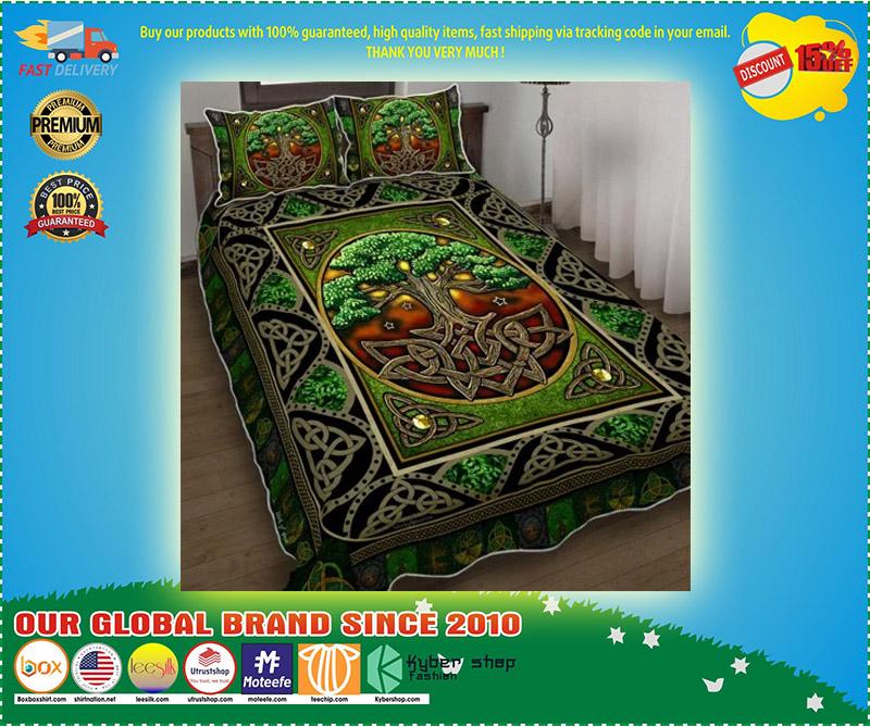 Irish tree bedding set 4