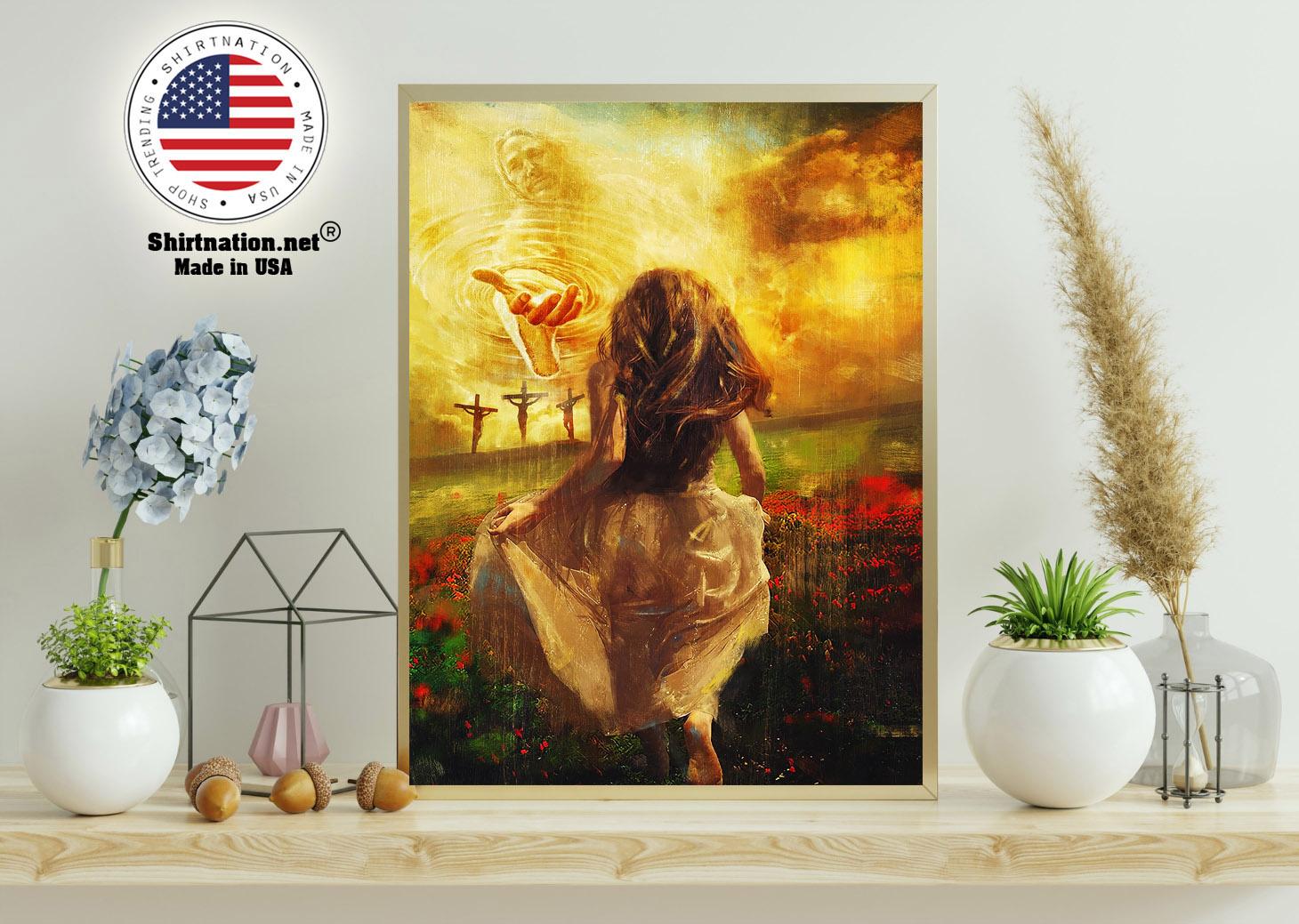 Jesus run to the beautiful poster 11