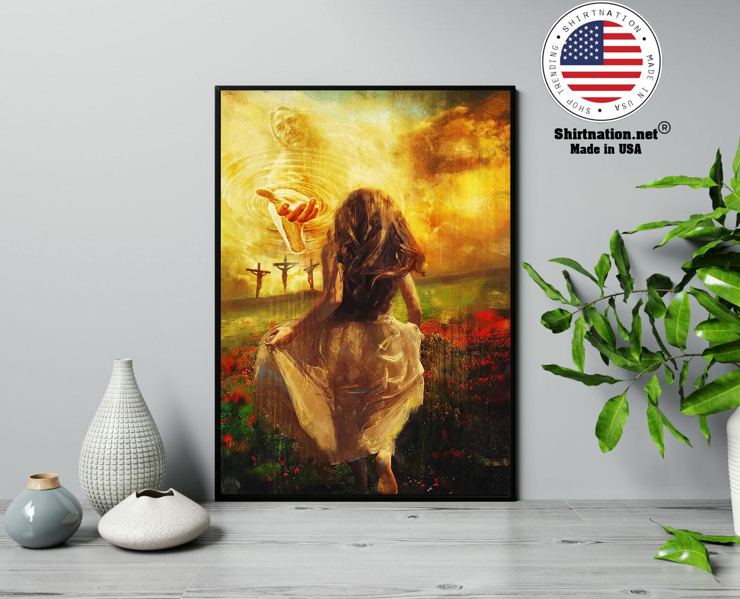 Jesus run to the beautiful poster 13