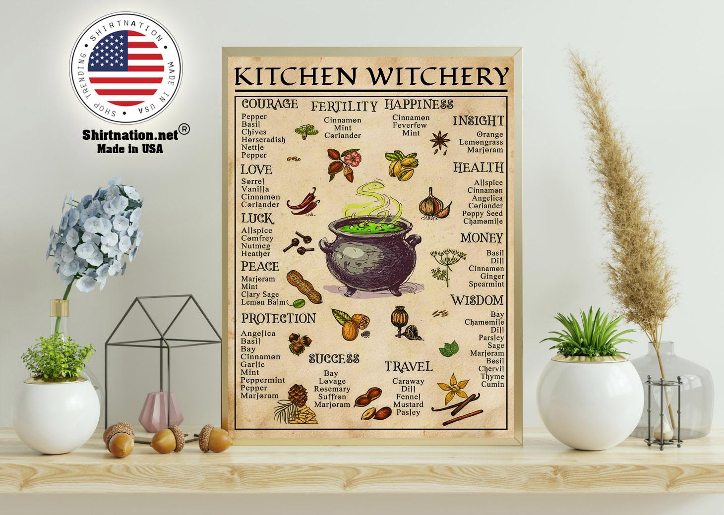 Kitchen witchery poster 11