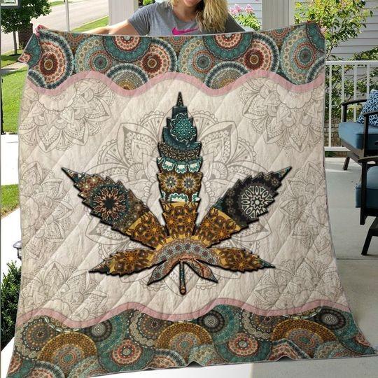 Mandala weed blanket 1