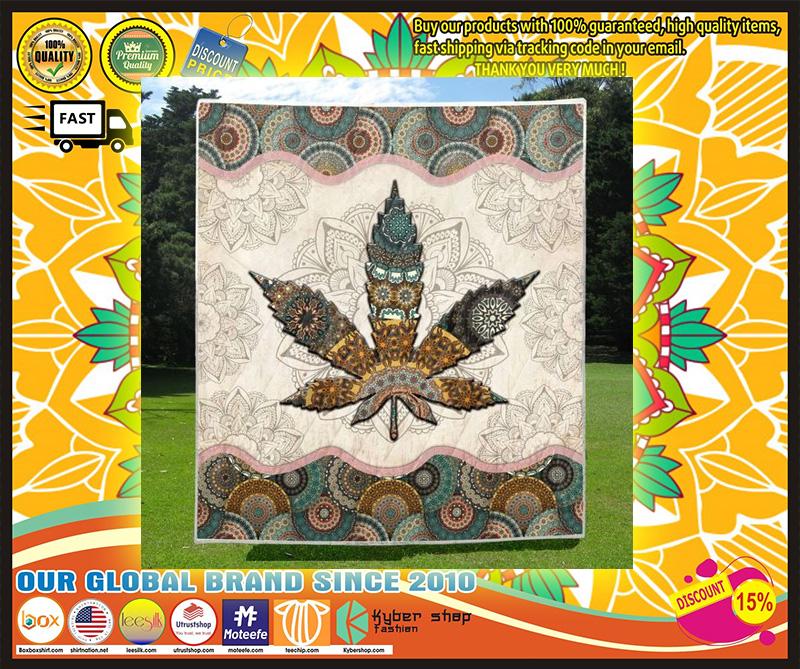 Mandala weed blanket 3