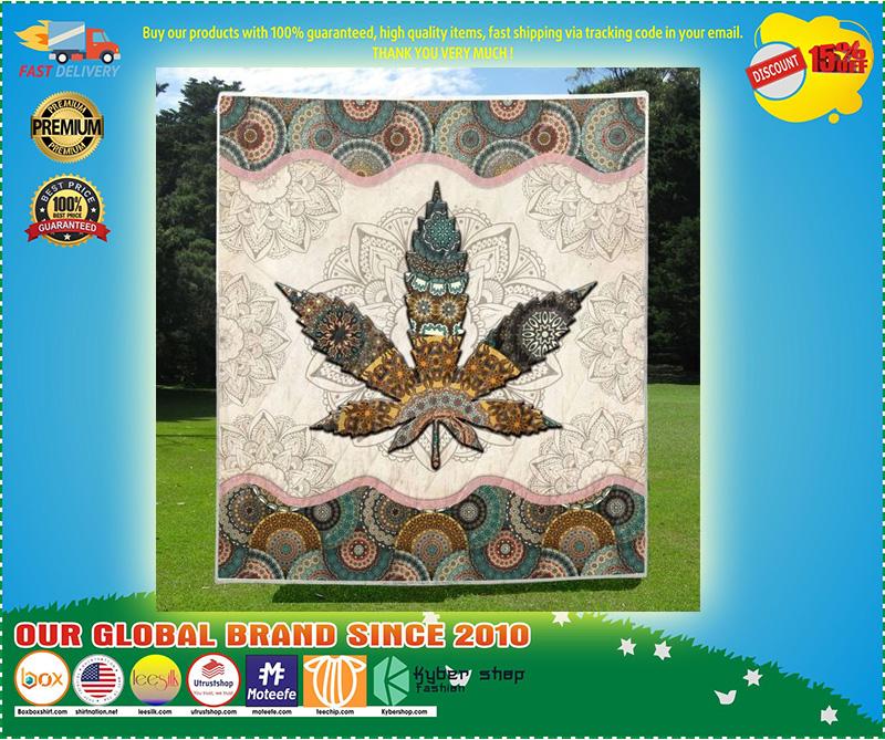 Mandala weed blanket 4