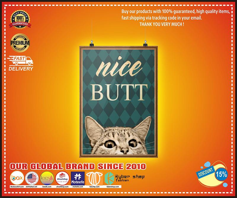 Nice butt Cat poster 3