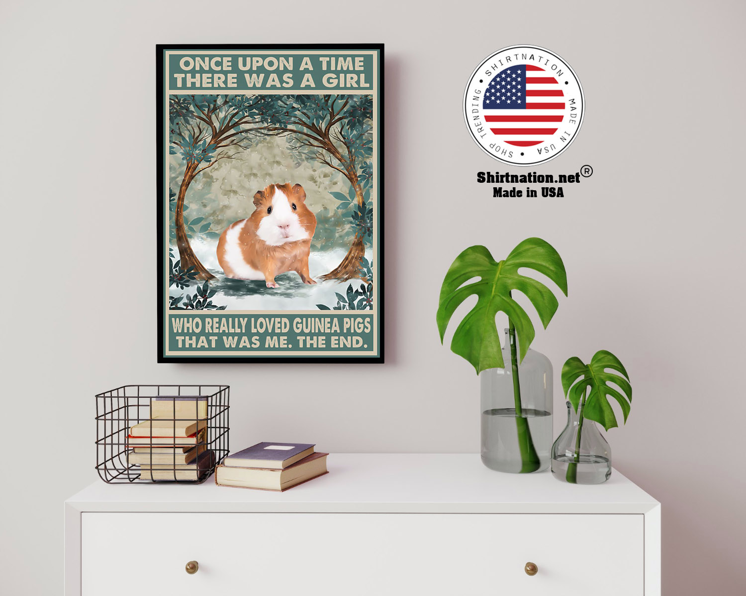 Once upon a time there was a girl who really loved guinea pigs poster 14