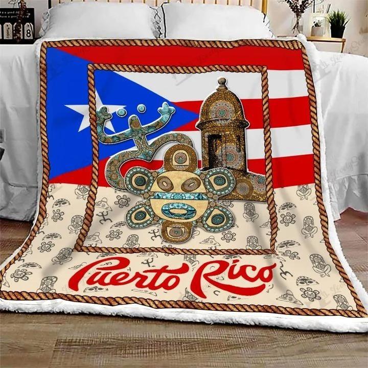 Puerto rico bedding set 4
