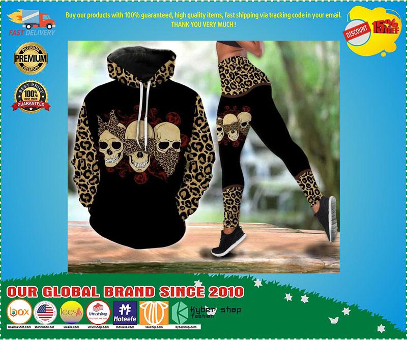 Skull 3D hoodie and legging 3