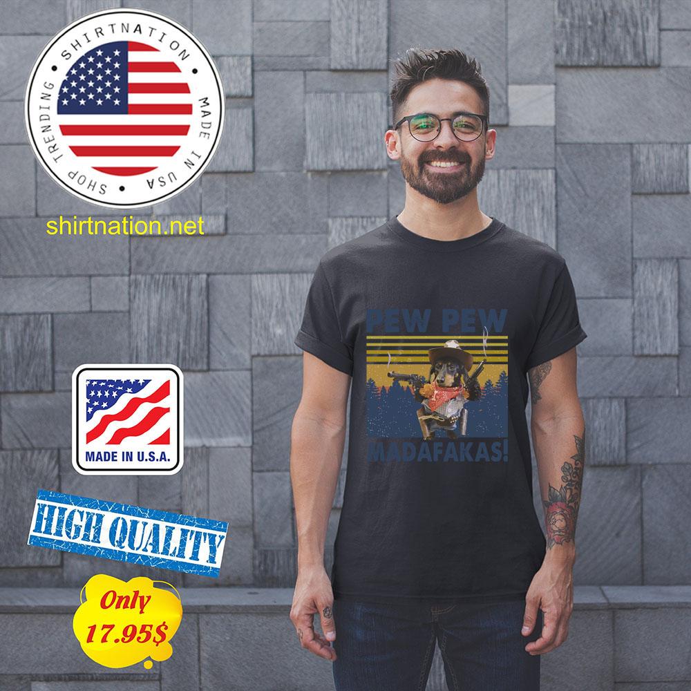 Snoopy Pew Pew madafakas Shirt1