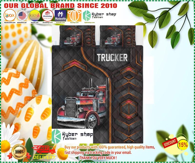 Trucker bedding set 3 1