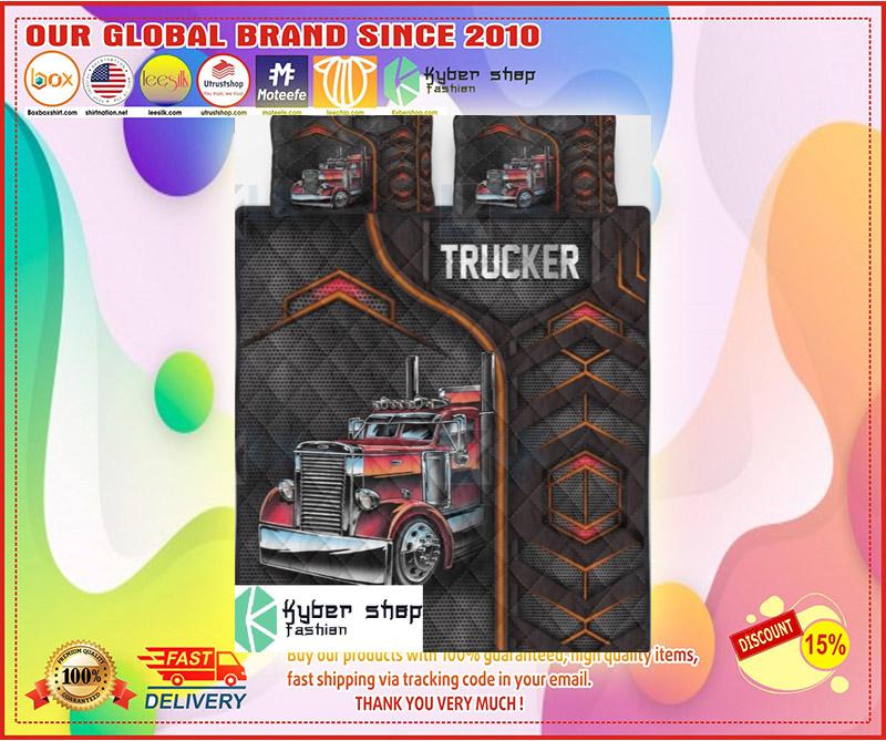 Trucker bedding set 4 1