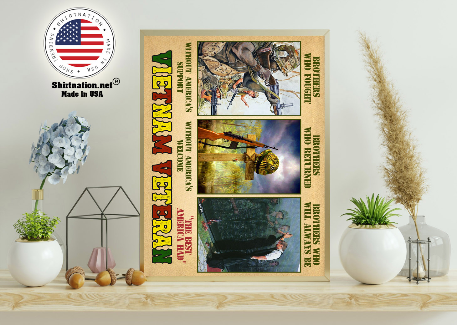 Vietnam veteran brothers who fought without americas support poster 11