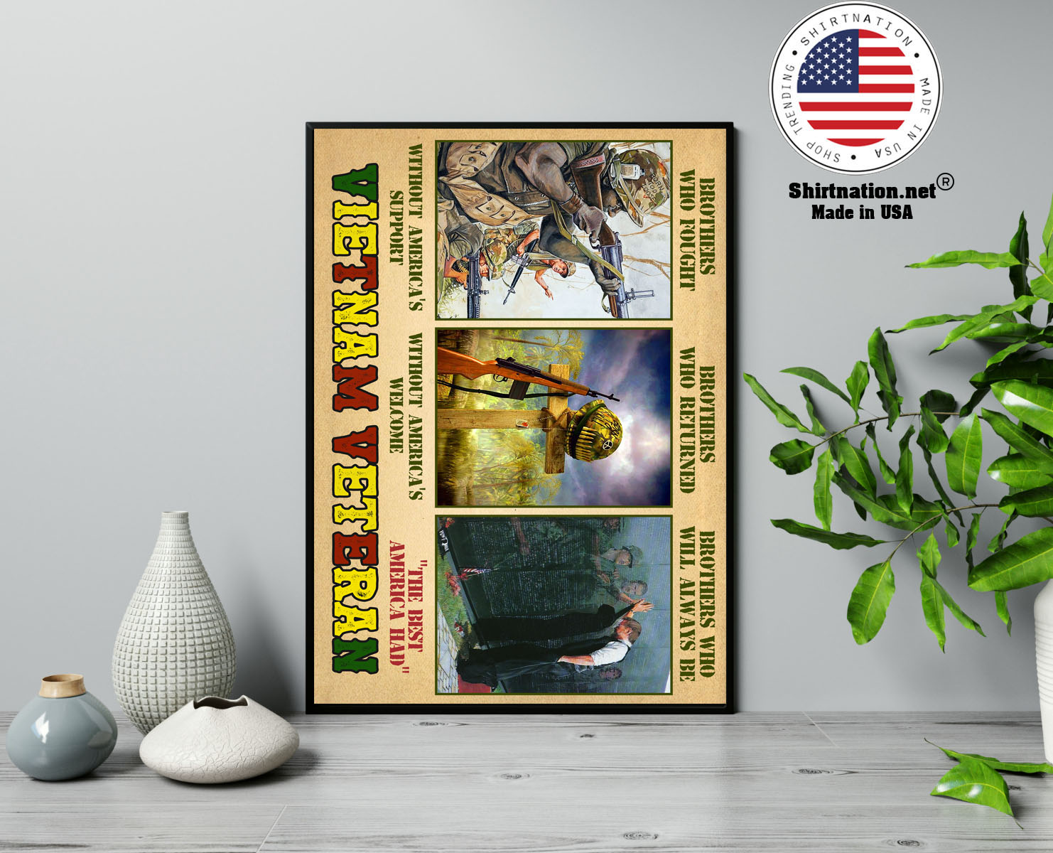 Vietnam veteran brothers who fought without americas support poster 13