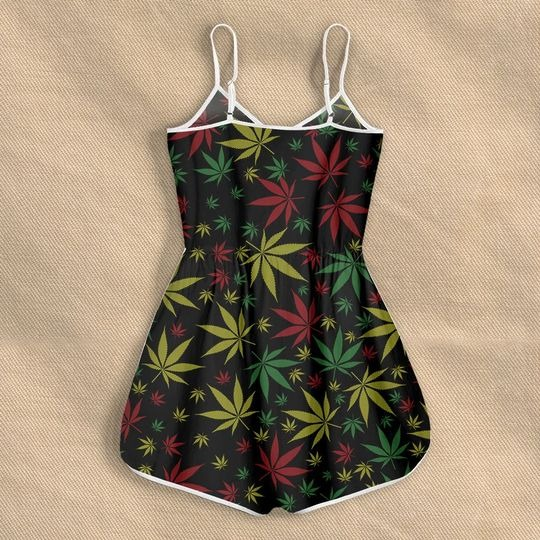 Weed roll me a blunt and Tell me Im pretty Rompers for women 2