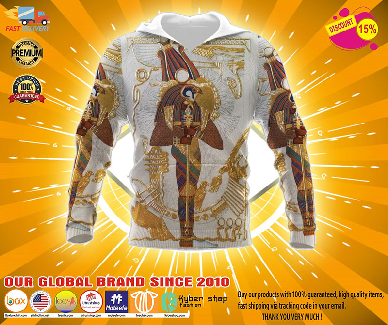 Ancient egypt gods 3D hoodie4