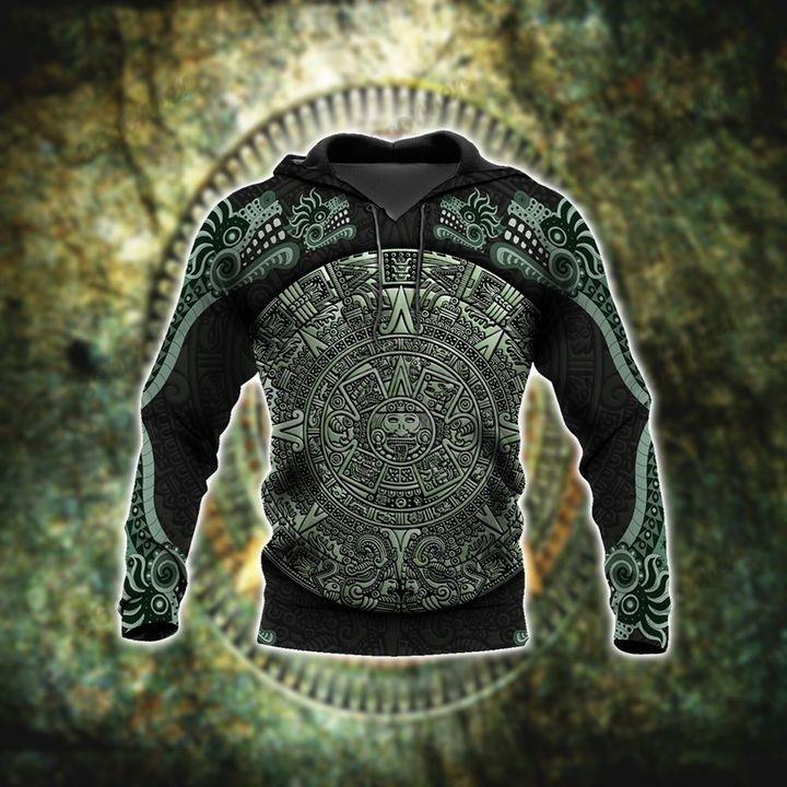 Aztec jungle 3D hoodie and sweatpant2