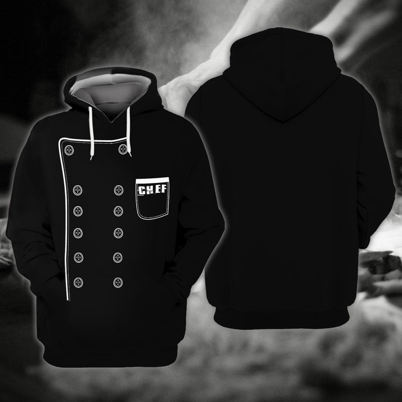 Chef I was made to play with knives and fire 3D hoodie10