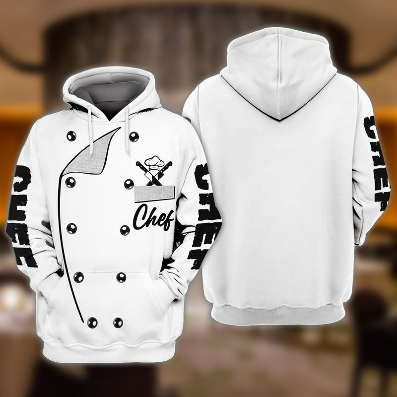 Chef I was made to play with knives and fire 3D hoodie9