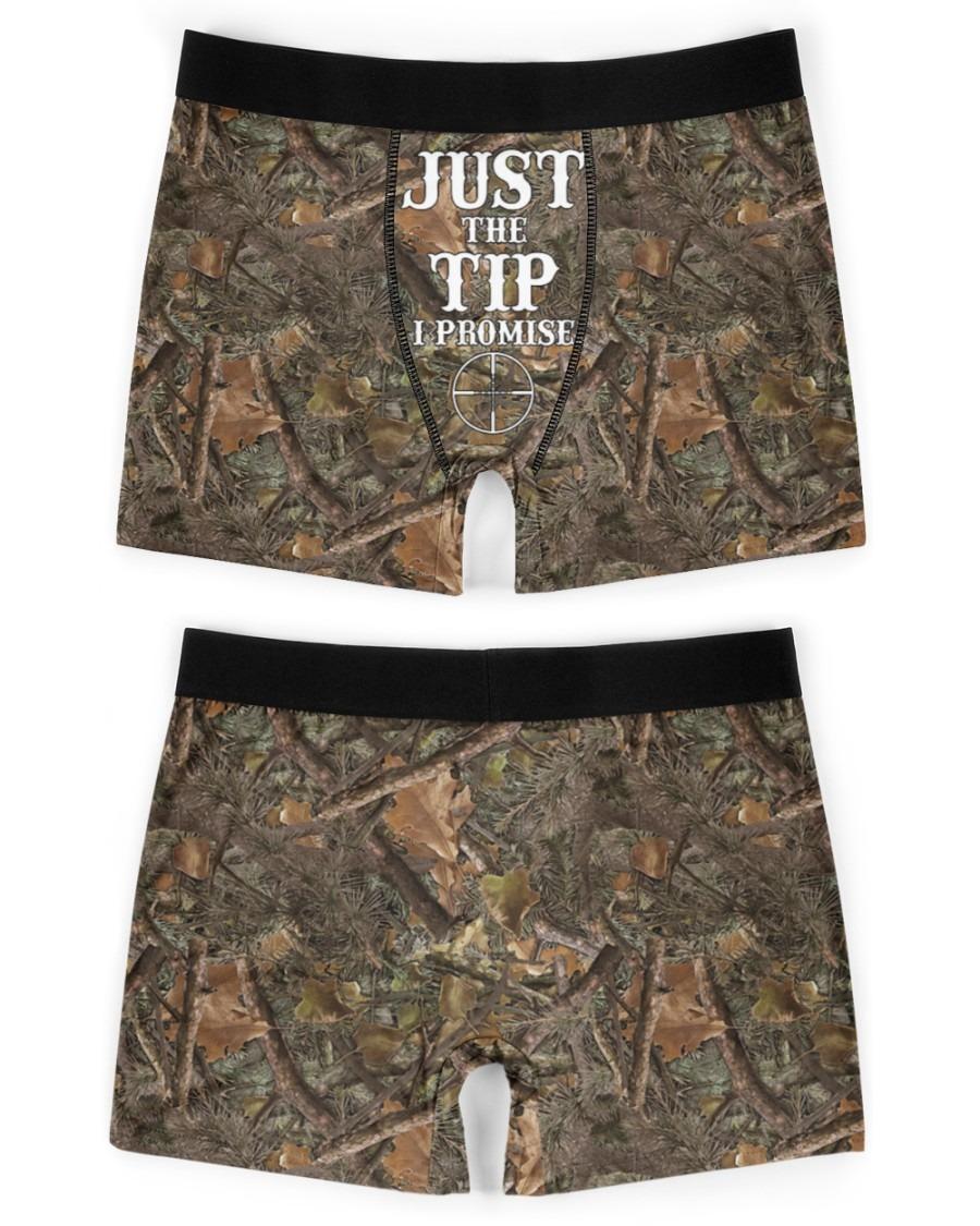 Deer hunting Just the tip I promise boxer men briefs3