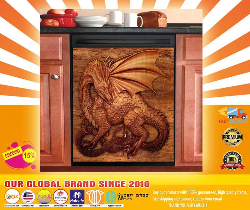 Dragon decor kitchen dishwasher4
