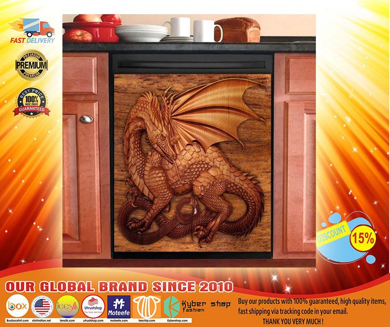 Dragon decor kitchen dishwasher3