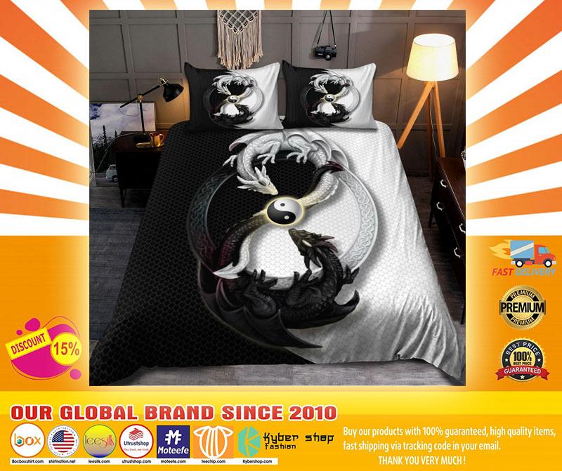 Dragon yin and yang bedding set4