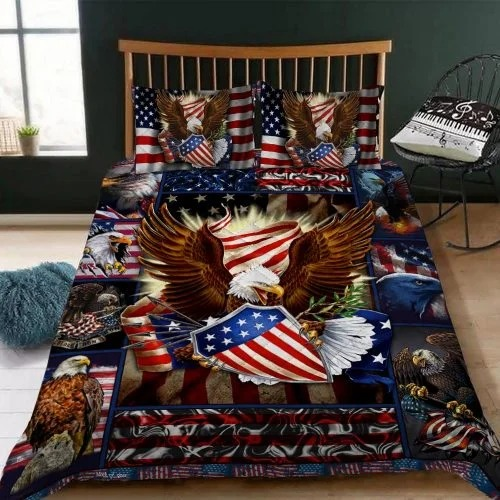 Eagle American bedding set2