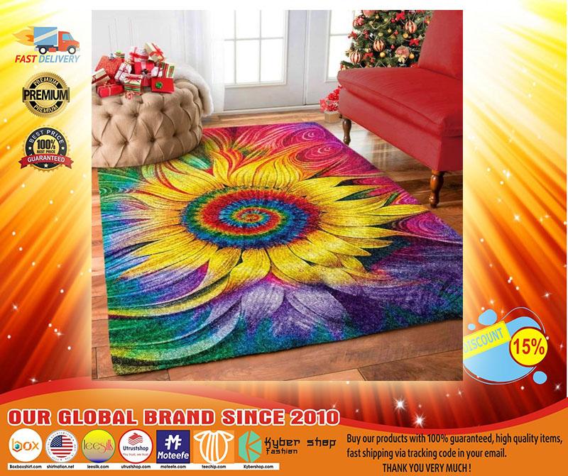 Hippie Sunflower rug3